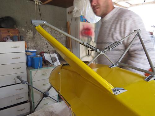 Repaginação de um Piper J-3 para um Neiva P56 C Paulistinha  9489478734_ed124f2b01