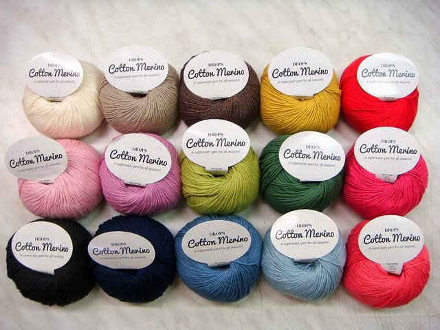 DROPS Cotton Merino 15152642220_0c1d0a47bc_z