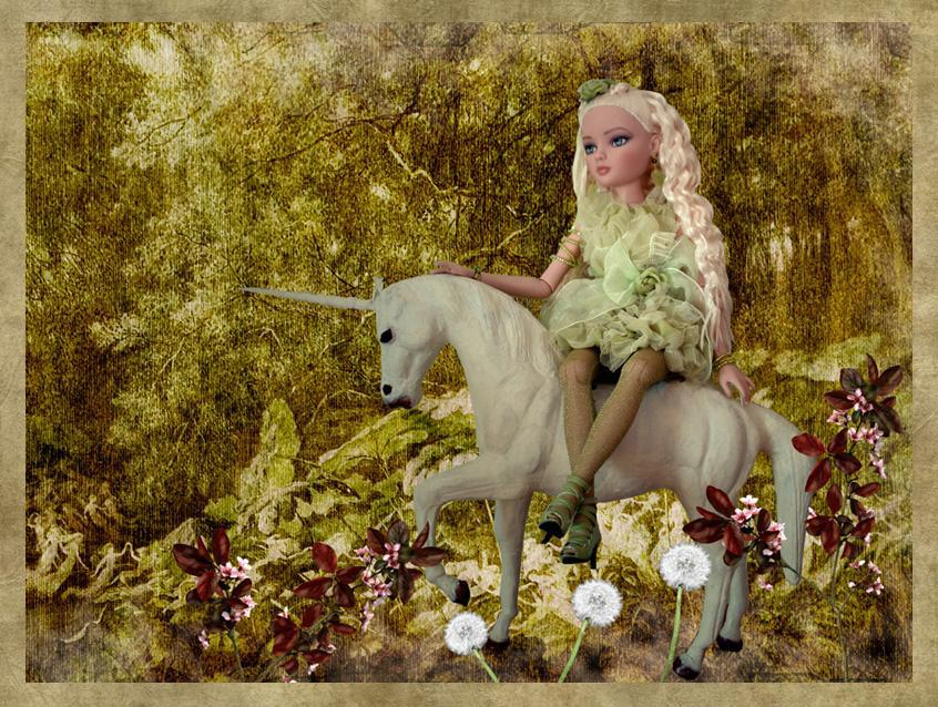 Ellowyne (Sweetly Sullen) et la licorne 4258508029_d3cb4fc44c_o