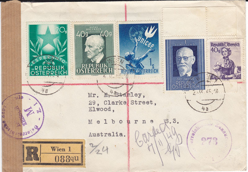 Zensurierte Bedarfspost nach Australien 4667024269_eac0fa5df0_b