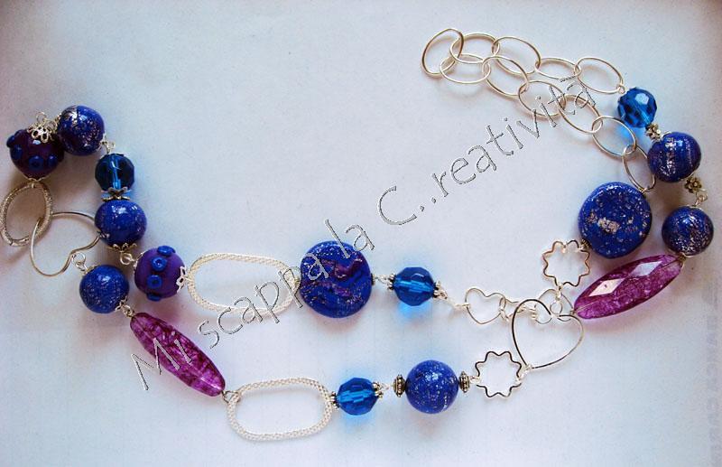 Collana blu e viola 4675671932_484f2ffd4d_b