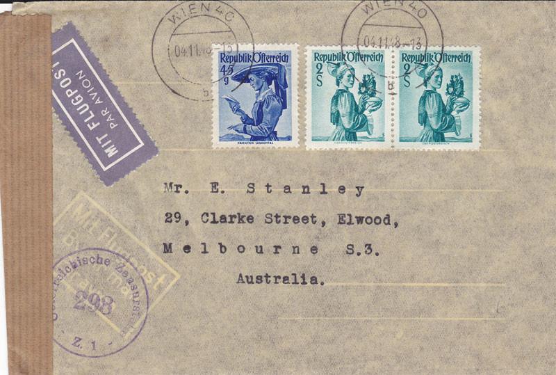 Zensurierte Bedarfspost nach Australien 4648654073_20d7e291f6_b