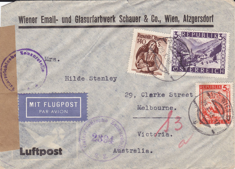 Zensurierte Bedarfspost nach Australien 4649270900_7379a86d5b_b