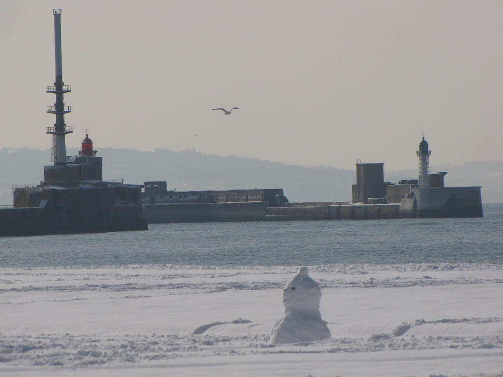 Le Havre sous la neige 4348081323_fe07dedfd8_b
