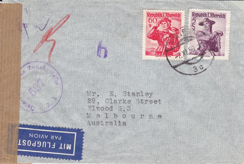 Zensurierte Bedarfspost nach Australien 4649271364_616b9e58e8_b