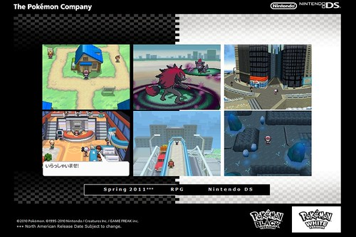 Novo jogo Pokemon Black and white version 4523229276_096ac31c16