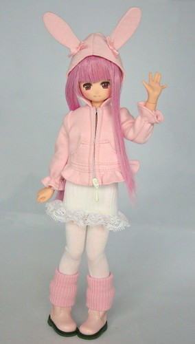 [Azone Pure Neemo] LaLa - Lapin rose (new) + Sweet Lolita 4409155965_cb89562ff9