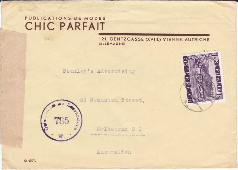 Zensurierte Bedarfspost nach Australien 4649270552_5f9a1554c8_b