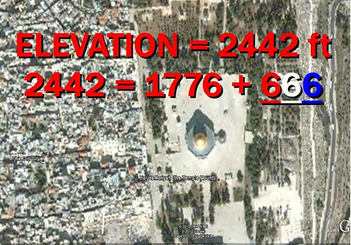 ELEVATION OF THE TEMPLE MOUNT, 666, 1776 4393425618_3730d3be48