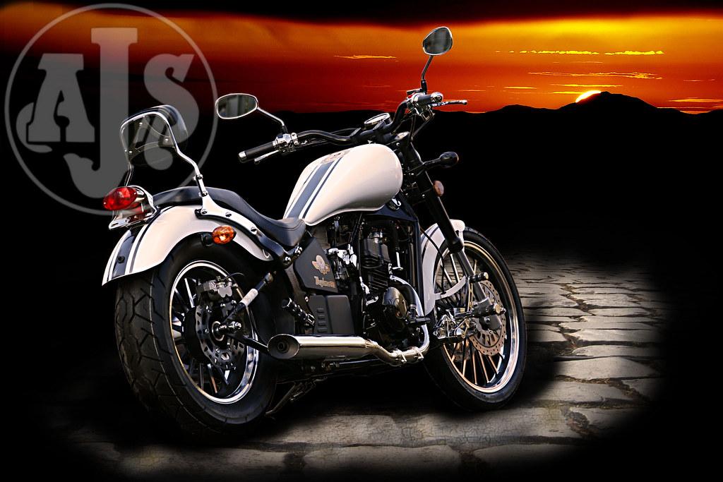 AJS Regal Raptor Daytona 125 4348800088_0831bae5d6_b