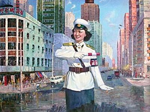 Traffic Policewomen Paintings - Art from North Korea 4281147168_5f30fb9ba0