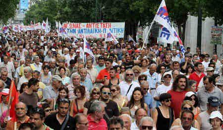 La séptima huelga general en Grecia paraliza hasta el Parlamento 4777436737_e69873e3ec