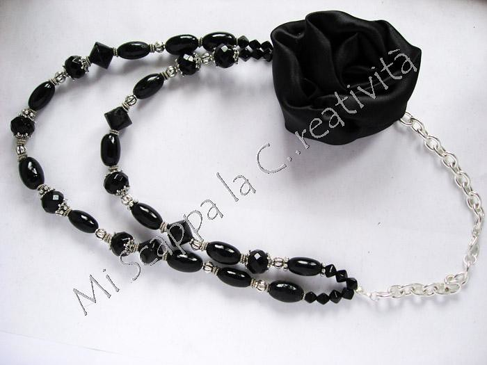 Two black necklaces 4754843796_8654cfe4e9_b