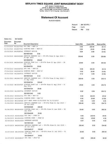 Berjaya Times Square - Overcharging Insurance Policy since beginning 5076870489_e408dfb106
