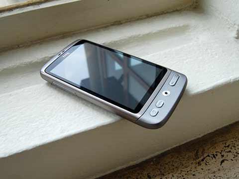 HTC Desire phiên bản màu bạc 4826137302_85716ec3a8