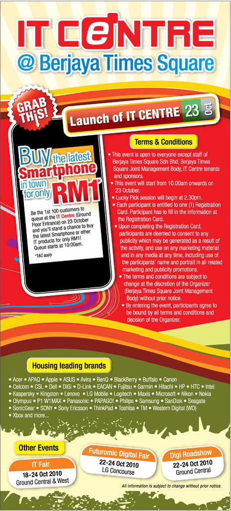 RM 1 for smartphone @ IT Centre 5089618998_89660ec9aa_b
