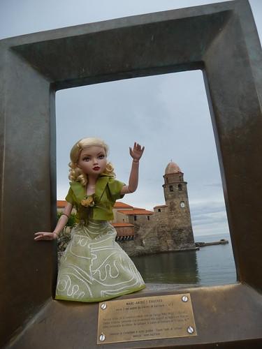 Mon ellowyne à Collioure !!! (basique blonde 1) 4743708393_5a8506cef5