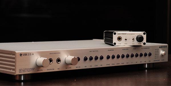 AQVOX USB2D/A, Carat Peridot e VHF-1 5042542401_5d78f904ce_o_d