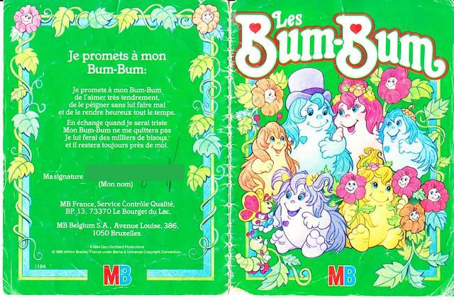 Bums-Bums / Snugglebumms (Playskool, MB) 1984 5077185897_1e3ac44be5_z