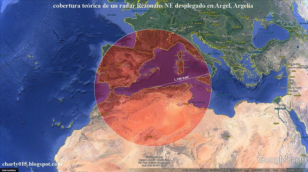الجزائر تشغل رادار الانذار المبكر REZONANS-NE 36706007543_2ff7e6160a_b