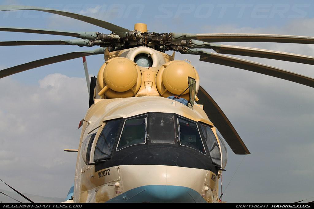 صور المروحيات الجزائرية  MI-26T2 - صفحة 22 45170732544_80dcc106bb_b