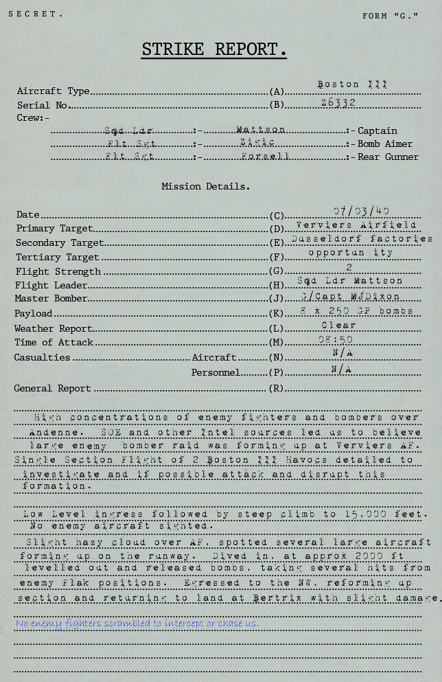 Bomber Action report. 5505283543_4d5cecd1ff_b