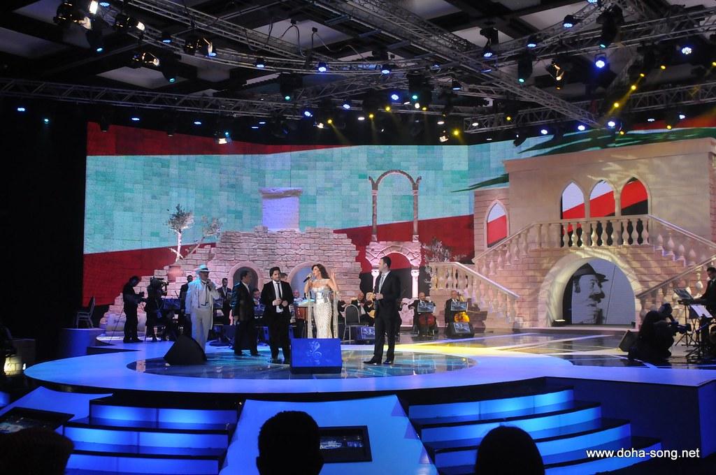 من مهرجان الاغنية العاشر ~~ الدوحة 5299723549_ed2a4a99da_b
