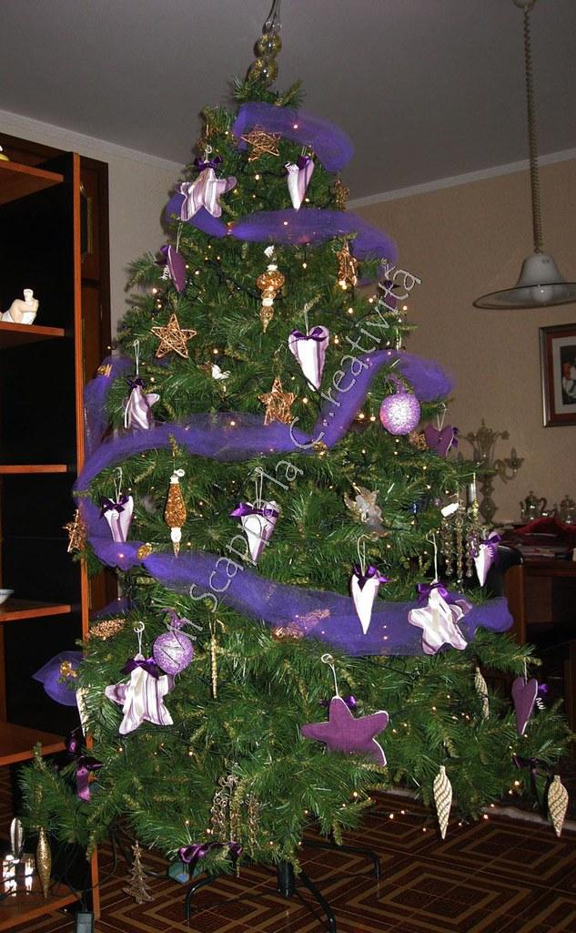 Ecco il mio Xmas Purple Tree!! 5240678126_82b848d192_b
