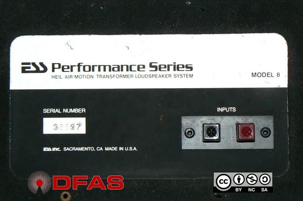 ESS Performance Series MODEL 8 - Air Motion Transformer 5648885811_af4dccd902_z