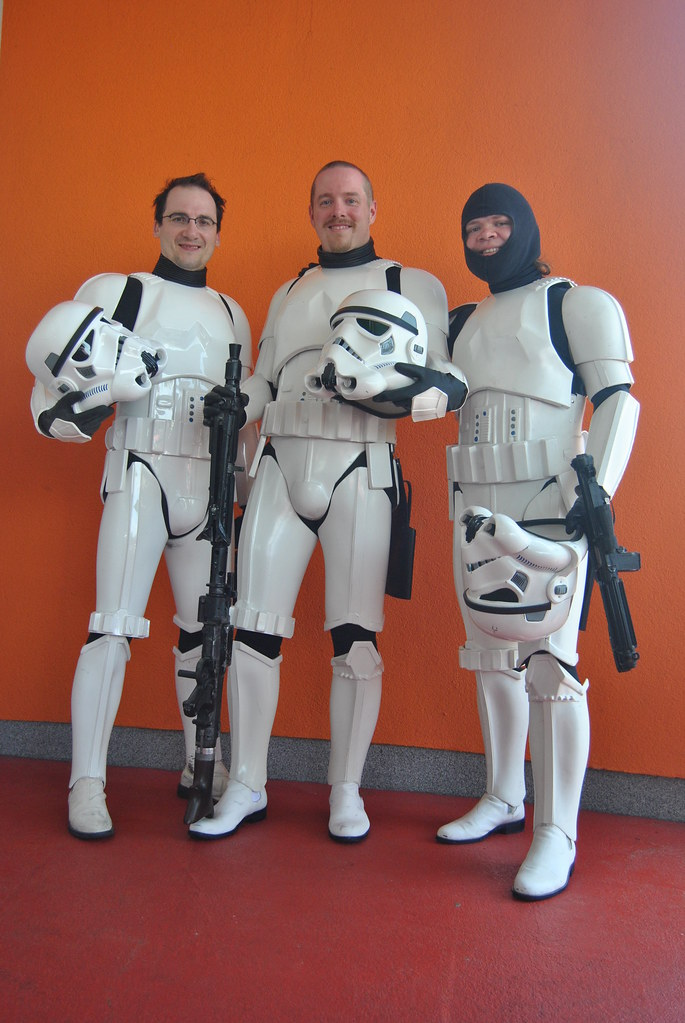 ANH Vader flanked by 2 TKs 5809123016_3f0681d50f_b