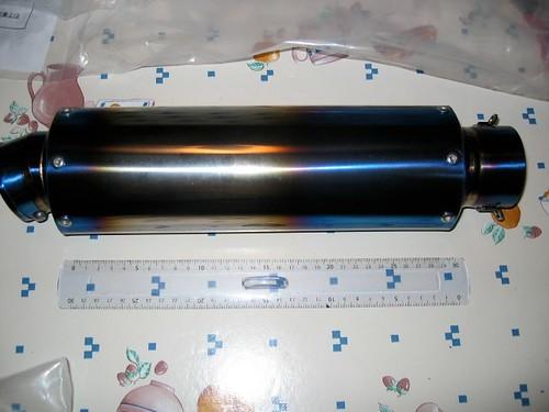 [Vendu] Silencieux K-Factory titane (import Japon) 5907291751_a51c8f3b5c