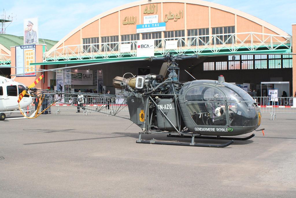 Gendarmerie Royale a Marrakech AeroExpo  2012 7057901655_4ba728e593_b