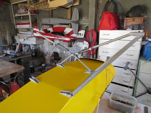 Repaginação de um Piper J-3 para um Neiva P56 C Paulistinha  9486715601_60c927c7e3