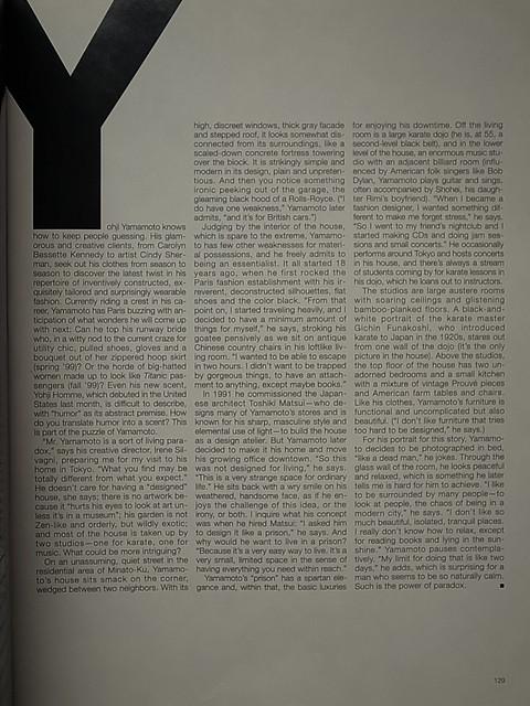 Yohji Yamamoto Archives 9334150118_fae3ba2287_z
