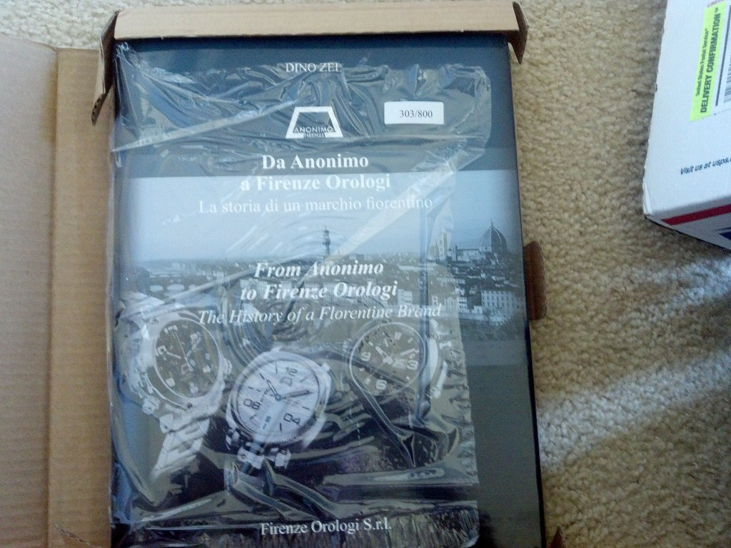 MY new Limited Edition Anonimo!! 7421498938_e58d5b3740_b