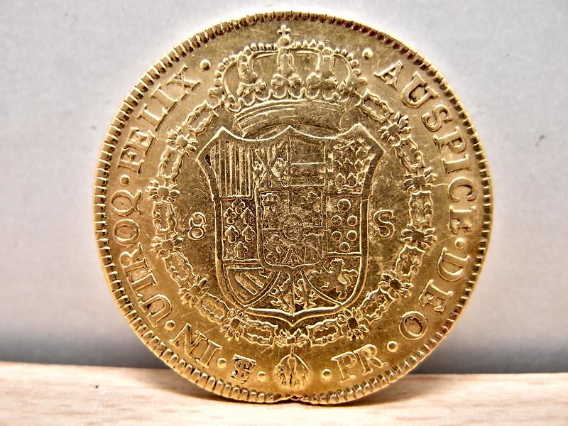 8 Escudos 1787. Carlos III. Potosí 9572437714_52d2b5c7ed_c