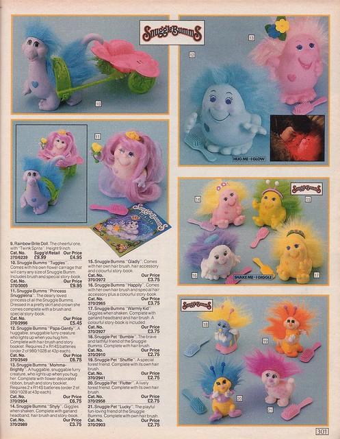 Bums-Bums / Snugglebumms (Playskool, MB) 1984 7110294085_02f3dbe54f_z
