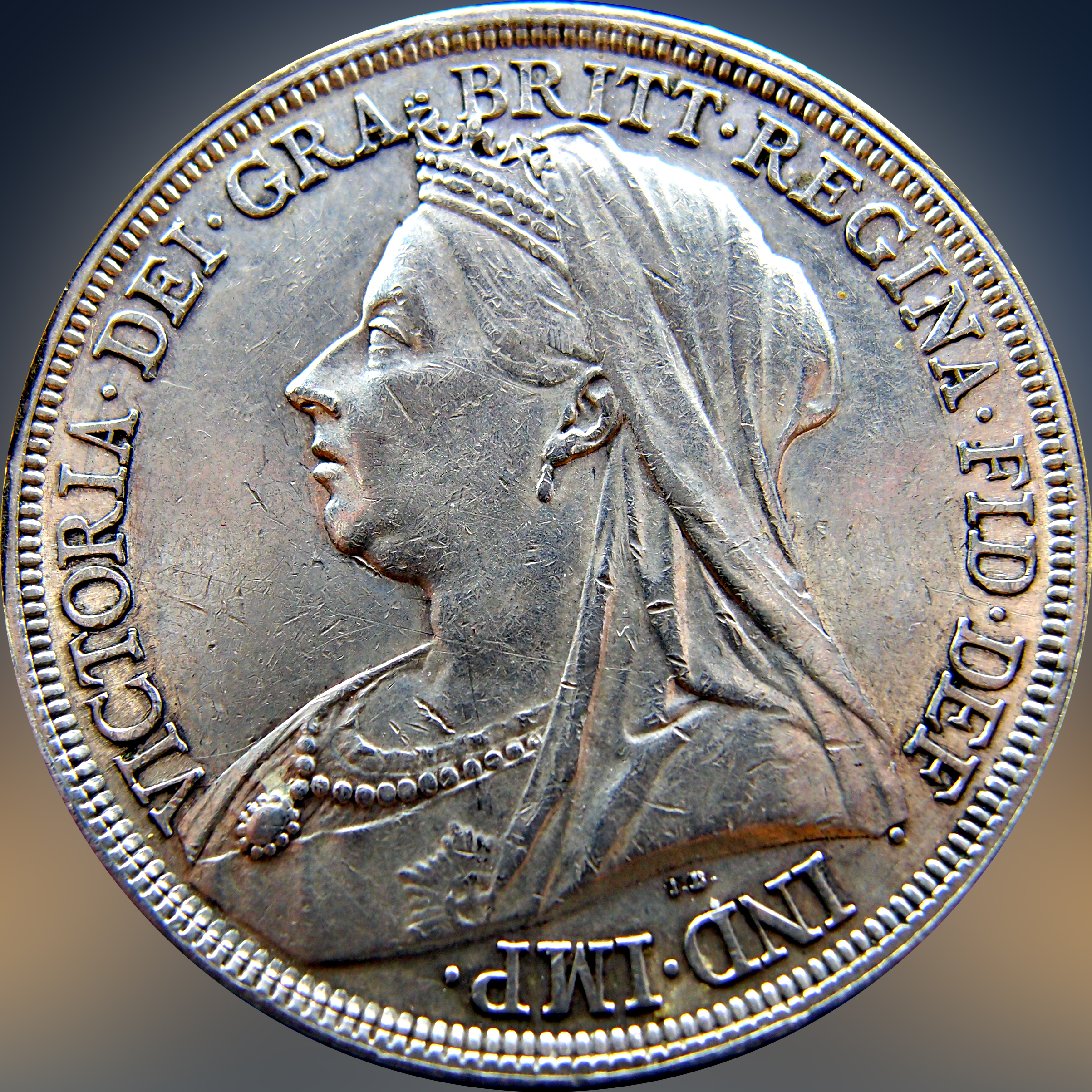Great Britain One Crown Queen Victoria 1893 LVI 11328076254_c19ac47d69_o