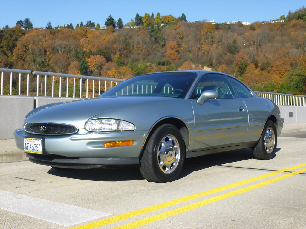 My new 1996 Riviera -- Light Jadestone Metallic, normally aspirated 10567889635_97a0263eea_b