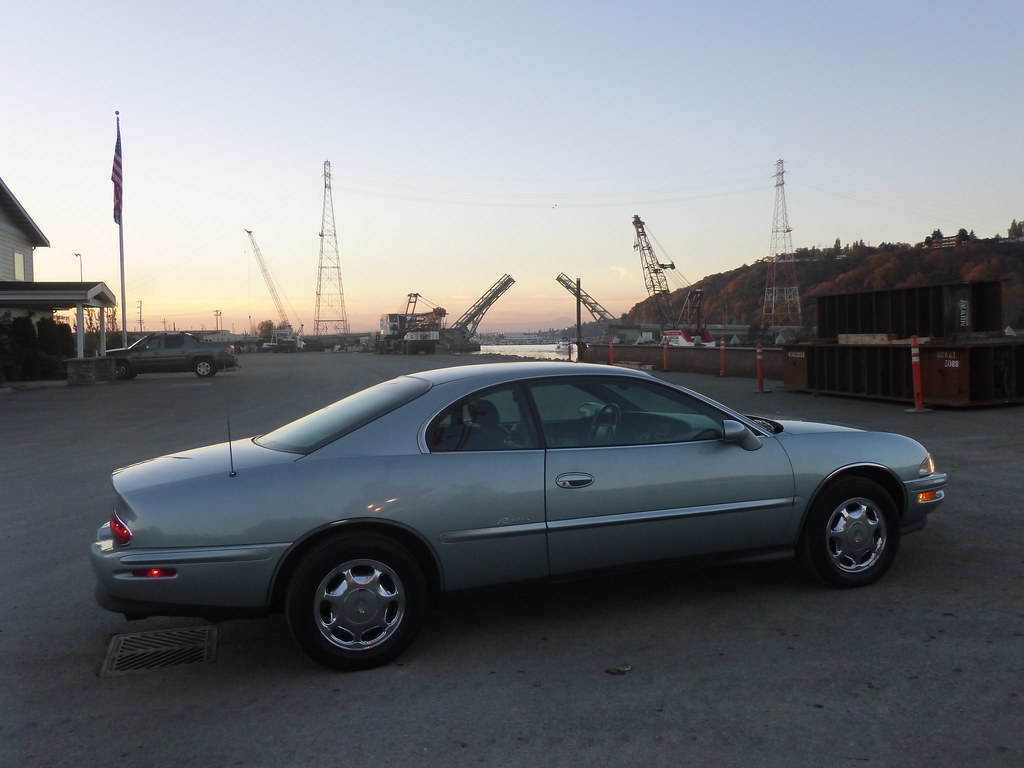 My new 1996 Riviera -- Light Jadestone Metallic, normally aspirated 10567912465_bfffdee765_b