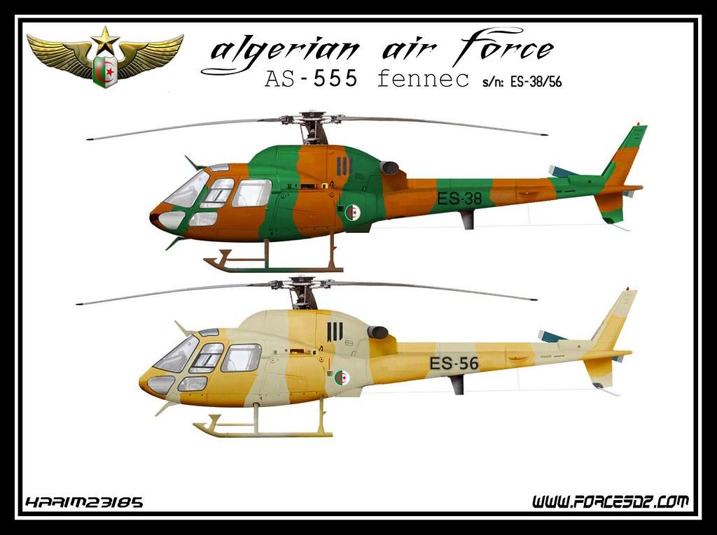 صور مروحيات القوات الجوية الجزائرية Ecureuil/Fennec ] AS-355N2 / AS-555N ] - صفحة 7 30098035696_07564d99ff_b