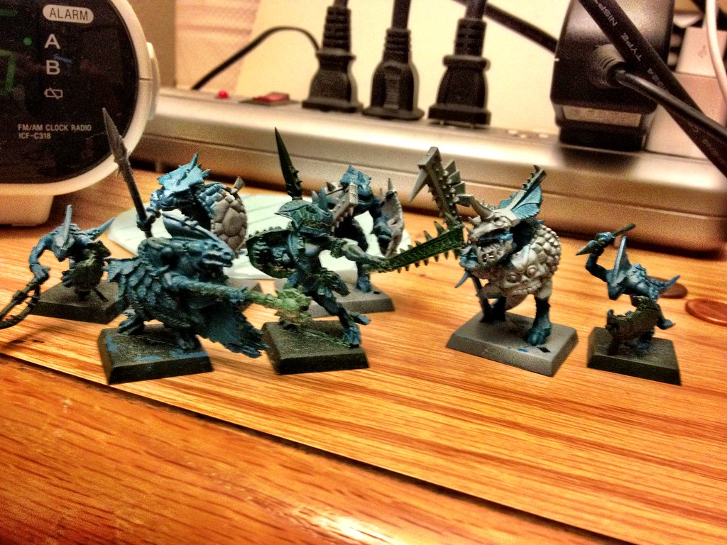 Start of Undead, Lizardmen, and Orcs 6285454954_f861e979ba_b