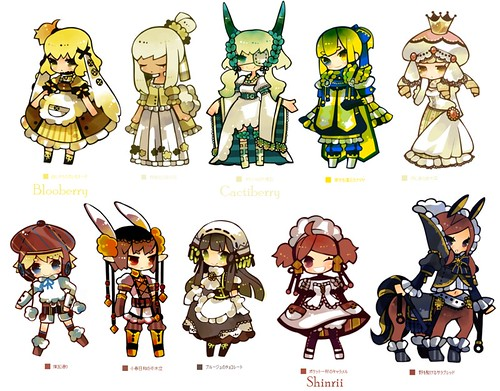 [ACP12] 100 Coloured pencil Gijinka group! -Open group- >>39/100<< 6123156391_75aa037391