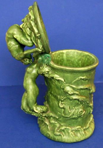 Mystery Art Nouveau Earthenware Stein 6160904575_b583b2ea70