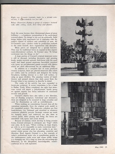 Ceramics Monthly May 65 - Raul Coronel 4