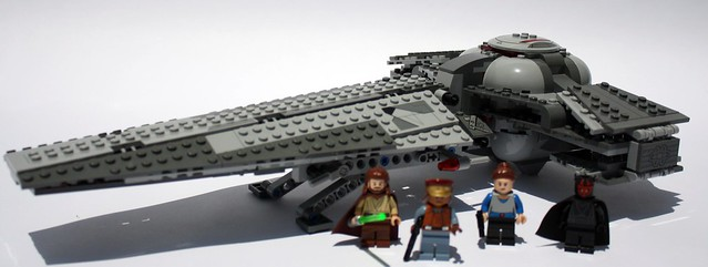 7961 Darth Maul's Sith Infiltrator review 5978284545_49ee2a0640_z