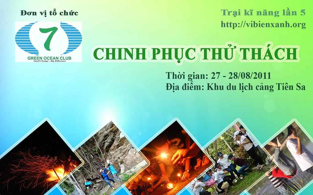 Hội trại Chinh Phục Thử Thách do CLB Vì Biển Xanh tổ chức 6015687810_a9c335ccd4_b