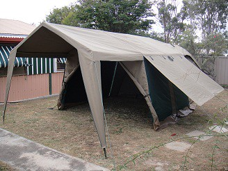 Campmor canvas shower tent at last 6234676754_7751704500