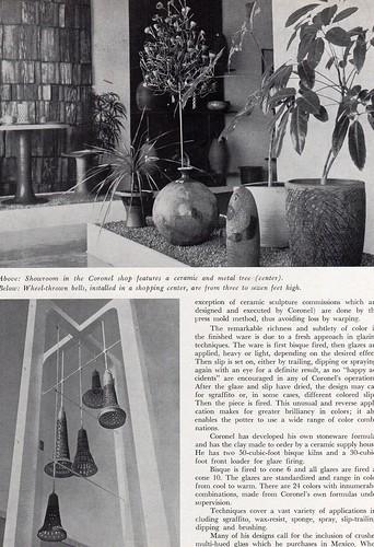 Ceramics Monthly May 65 - Raul Coronel 3