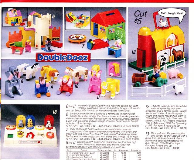 Doubles / Double Dooz (MATTEL) 1985 - 1987 6262347025_fe706fe8d8_z